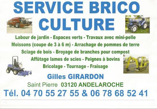 Service brico culture